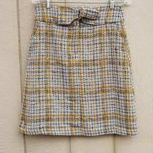 M&S collection Checked A Line Mini Skirt